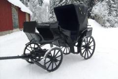 Evon metsäoppilaitoksen perustajan Blomqvistin vaunut jälkeen