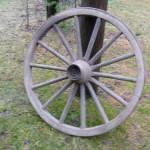 Vanha puupyörä